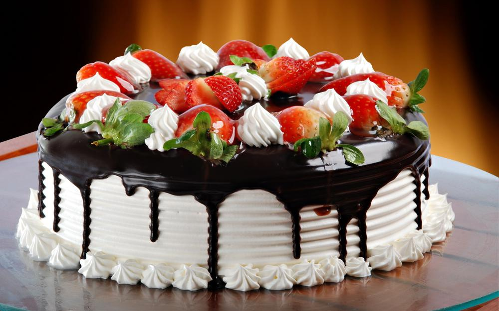 Cake, frosting, chocolate