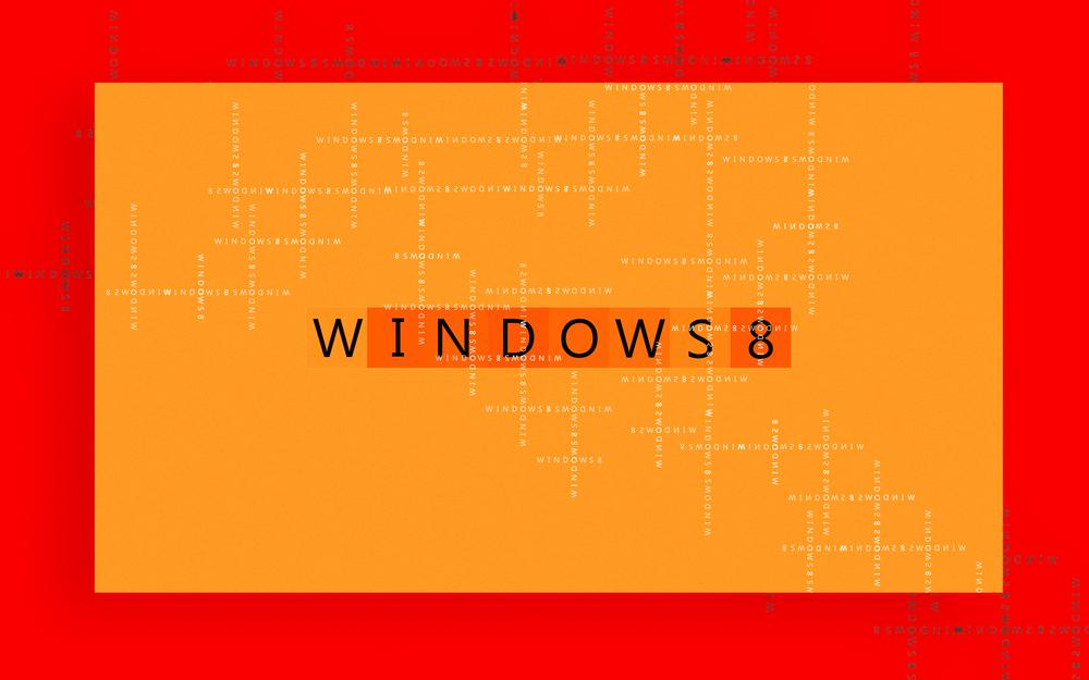 Windows, text, 8 operating system
