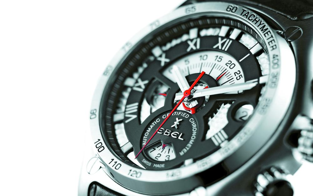 Watch, ebel, red