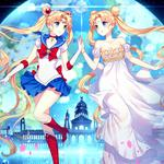 Sailor moon months hare, anime girls, wallpaper