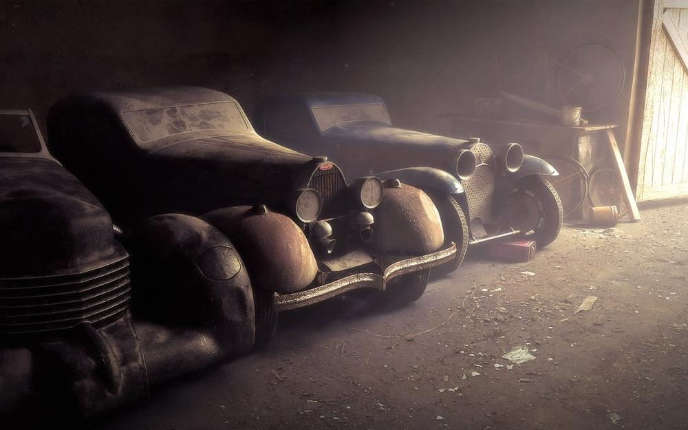 Dust, auto, old, wallpaper, cars, picture, garage
