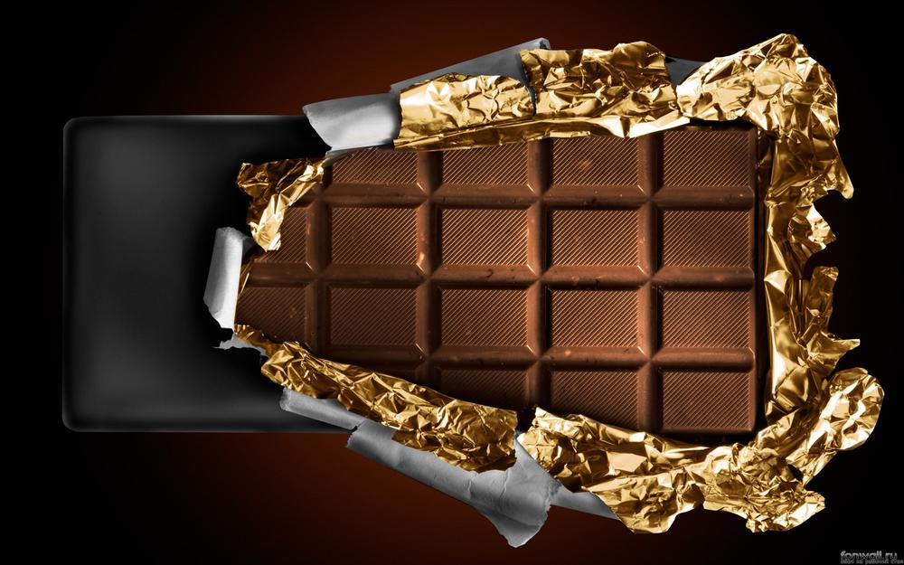 Chocolate, wrapper, packaging