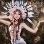Feathers, asian