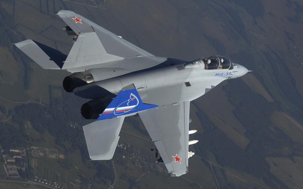 The air force of the russian federation mig-35 mikoyan