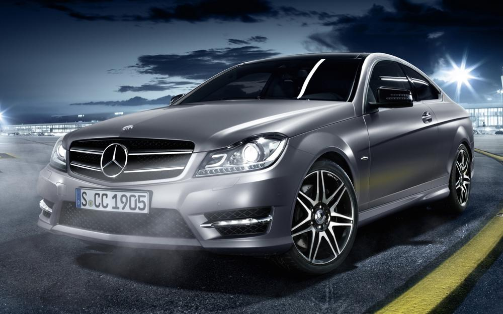 Sport coupe, silver, front, c250