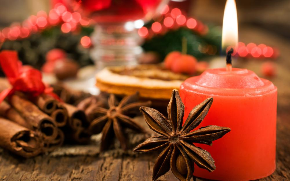 Holiday, candle, merry christmas, happy new year, christmas