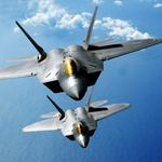 F-22 raptors desktop background