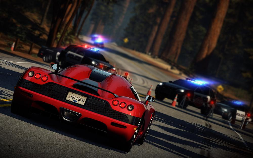 Need for speed, rivals, chase