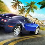 Bugatti veyron, ibiza, island, car, test drive unlimited 2, city
