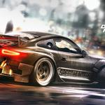 Need for speed, arcade, car simulator, ghost games, games, porsche 911, 2015, poster