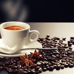 Coffee, cup, cloves