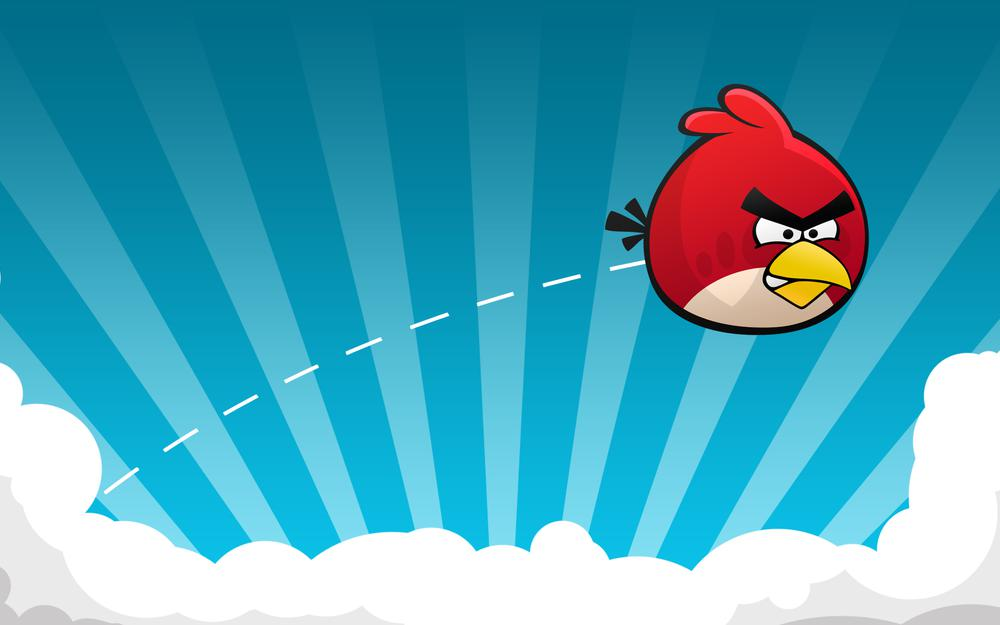Angry birds, game, flight, game