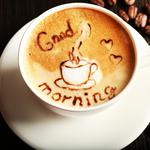 Good morning, coffee, cup, coffee, beans