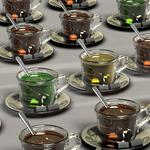 Cup, 3d, utensils wallpaper