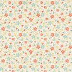 Small fresh floral wallpaper