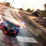 Police, need for speed, drift