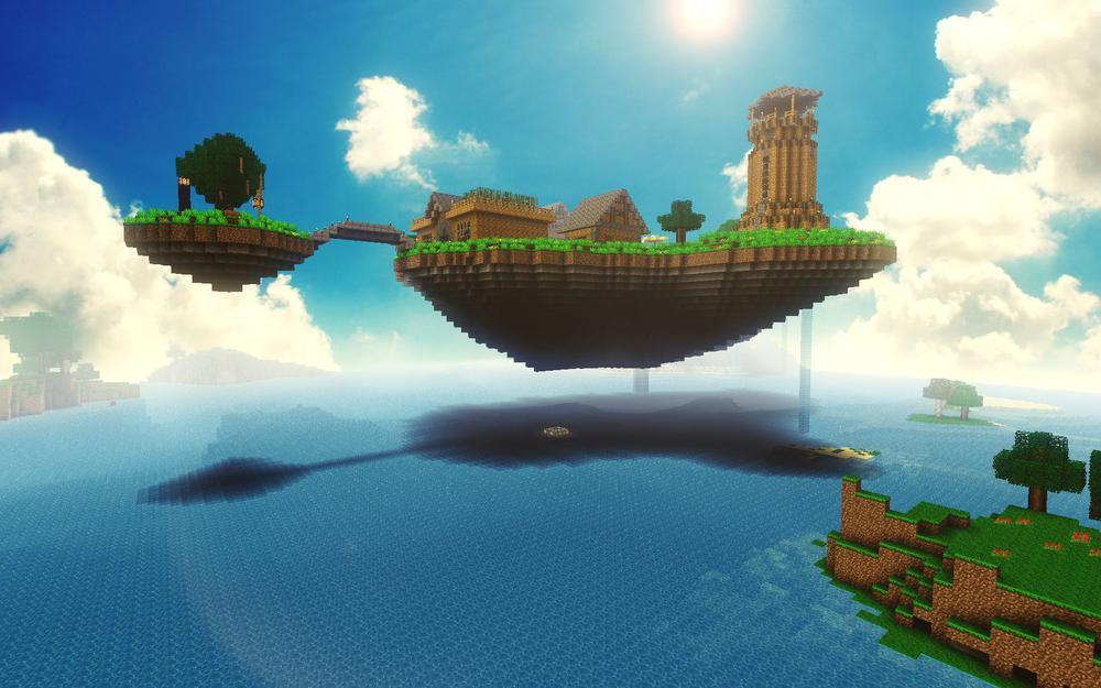 Minecraft, beauty, sea, nature