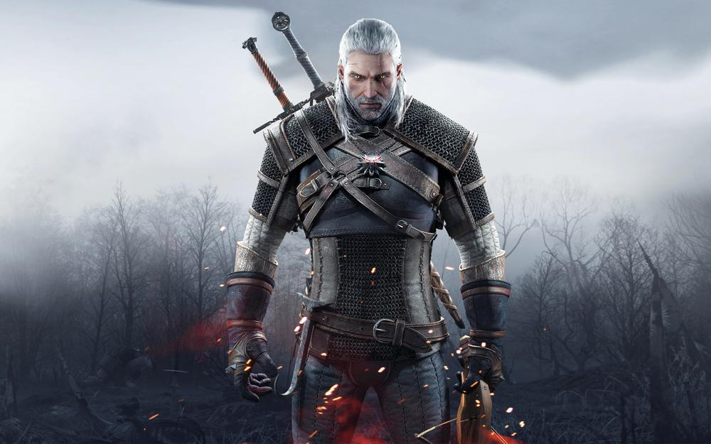 The witcher, witcher, face