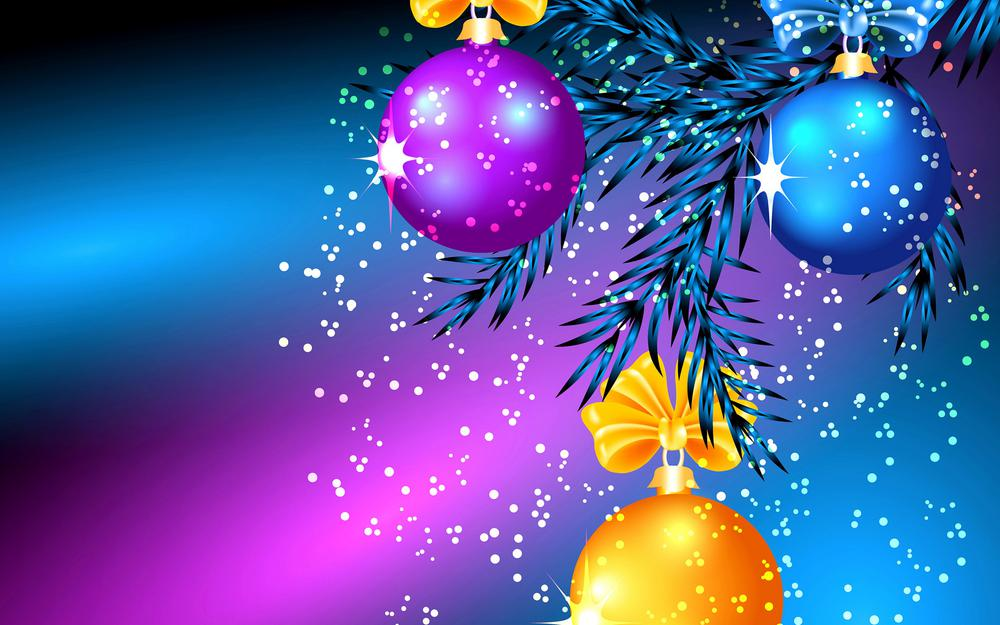 Balls, christmas, tree, light
