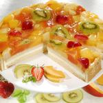 Sponge cake with jelly