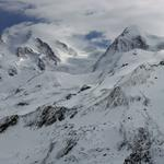 Cold, snow, mountains, peaks