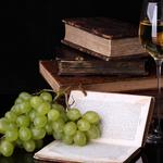 Grape books wine