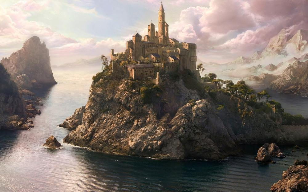 Castle on the island