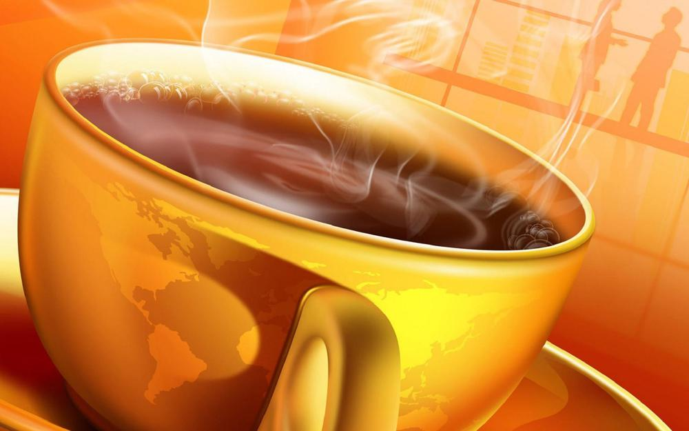 A cup of coffee desktop wallpaper