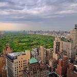 Buildings, new york, house, high-quality photos of new york, the clouds, the big city, central park in new york city, new erc, manhattan, overcast