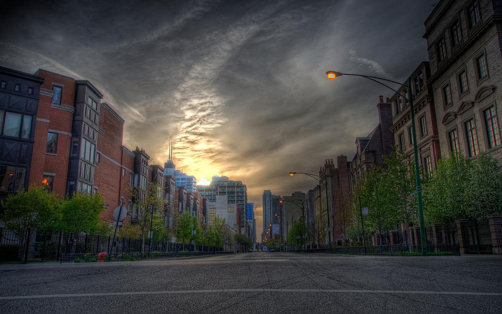 Cars, road, city, houses, streets, roads, cars, automobiles, street