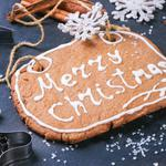 Merry, christmas, decoration, christmas. new year, gingerbread