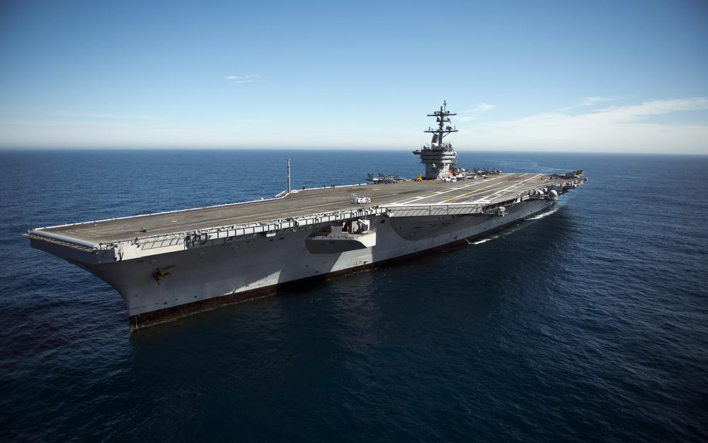 Aircraft carrier, uss carl vinson, ship, weapon