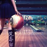 Bowling girl beautiful desktop wallpaper