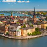Stockholm, sweden, knights island, gamla stan, knights island church picture, city landscape desktop wallpaper