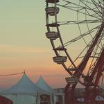 Entertainment, attractions, ferris wheel