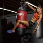 Boxing bag, sportswear, strength of arms and legs, fitness