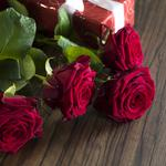 Red roses, valentine`s day, roses, red, gift