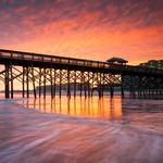 United states, folly beach in charleston, south carolina