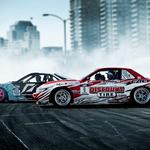 Smoke, cars, sports, drift, nissan