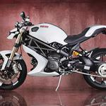 Ducati monster 1100 evo, bike, vilner design, white