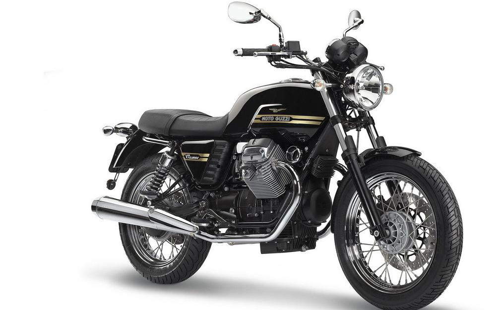 Motorbike, moto guzzi, black wallpaper