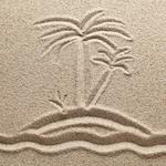 Texture, drawing, sand, drawing