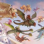 Dragon, parade, how to train your dragon, how to train your dragon