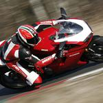 Ducati with wind speed