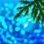 Ball, new year, christmas, christmas toy desktop background
