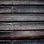 Nails, boards, wood