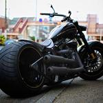 Vintage, softail, harley-davidson hd wallpaper