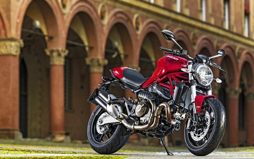 Ducati motorcycle red