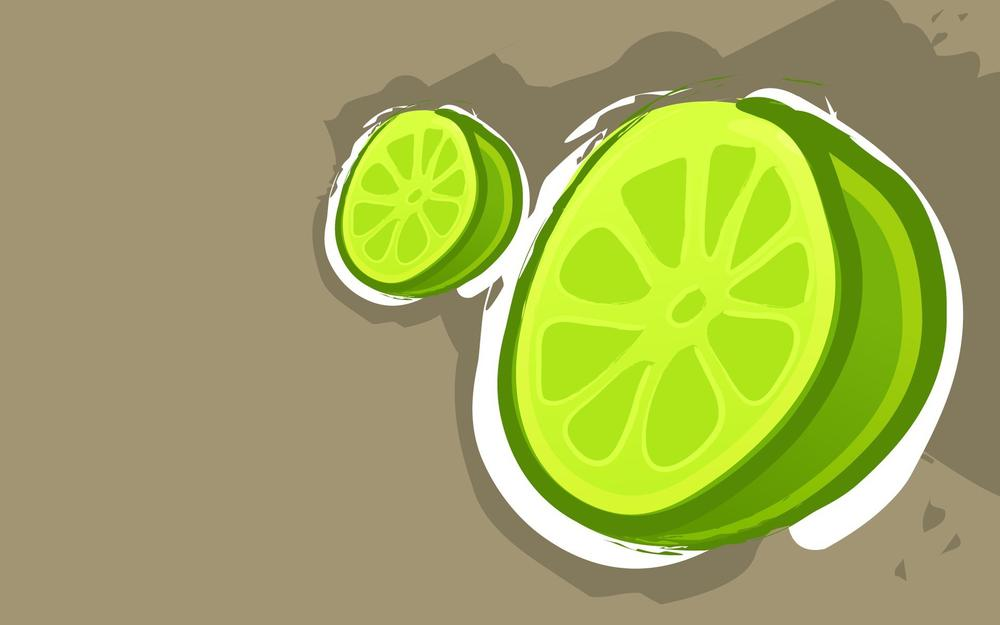 Background, lime, drawing