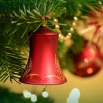 Christmas decoration, new year, bell, christmas